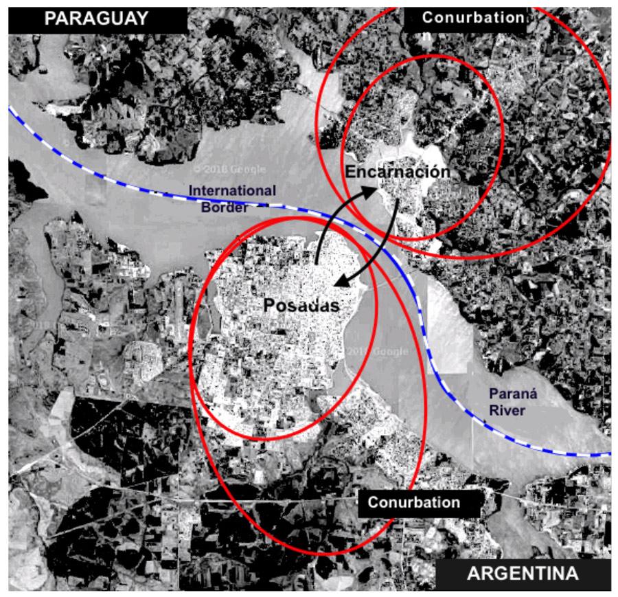 Twin cities? Posadas, Argentina and Encarnación, Paraguay in socio